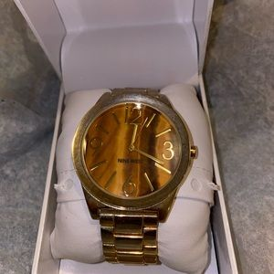 Nine West, PVD Gold plated Ladies watch